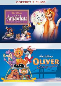 Les Aristochats + Oliver & Compagnie (Pack) - DVD