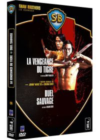 Coffret Shaw Brothers - L'action sauvage de Jimmy Wang Yu et Chang Cheh - La vengeance du tigre + Duel sauvage (Pack) - DVD