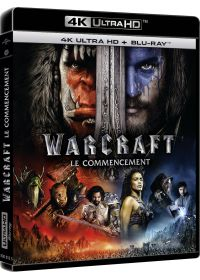 Warcraft : Le commencement (4K Ultra HD + Blu-ray + Digital UltraViolet) - 4K UHD