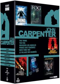 John Carpenter - Coffret - Fog + Invasion Los Angeles + New York 1997 + Prince des Ténèbres + The Thing + Le villlage des damnés - DVD