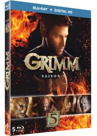 Grimm - Saison 5 (Blu-ray + Copie digitale) - Blu-ray