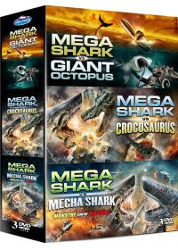Mega Shark vs Giant Octopus + Mega Shark vs Crocosaurus + Mega Shark vs Mecha Shark - DVD