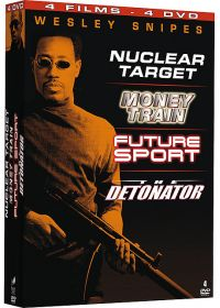 Wesley Snipes - Coffret - Nuclear Target + Money Train + Future Sport + The Detonator (Pack) - DVD