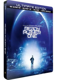Ready Player One (4K Ultra HD + Blu-ray 3D + Blu-ray + Digital HD - Édition boîtier SteelBook) - 4K UHD