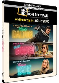 Once Upon a Time... in Hollywood (Exclusivité Fnac boîtier SteelBook - 4K Ultra HD + Blu-ray + Gallery Book) - 4K UHD