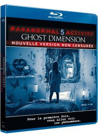 Paranormal Activity 5 : Ghost Dimension (Non censuré) - Blu-ray