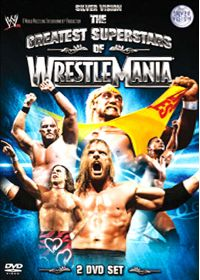 The Greatest Superstars of Wrestlemania - DVD