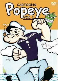 Popeye : Cartoons - Vol. 1 - DVD