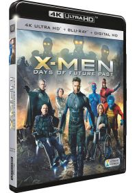 X-Men : Days of Future Past (4K Ultra HD + Blu-ray + Digital HD) - Blu-ray 4K