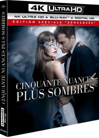 Cinquante nuances plus sombres (4K Ultra HD + Blu-ray + Digital HD - Édition spéciale - Version non censurée + version cinéma) - 4K UHD