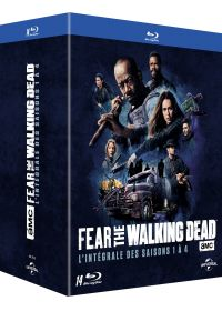 Fear the Walking Dead - L'intégrale des saisons 1 à 4 - Blu-ray