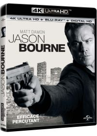 Jason Bourne (4K Ultra HD + Blu-ray + Copie Digitale UltraViolet) - Blu-ray 4K
