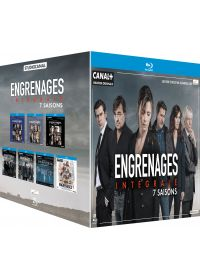 Engrenages - Intégrale 7 saisons - Blu-ray