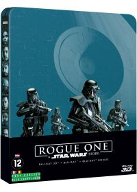 Rogue One : A Star Wars Story (Combo Blu-ray 3D + Blu-ray + Blu-ray Bonus - Édition Collector Limitée boîtier SteelBook) - Blu-ray 3D