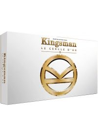 Kingsman : Services secrets + Kingsman 2 : Le Cercle d'Or (Combo Blu-ray + Copie digitale - Édition boîtier métal avec goodies) - Blu-ray