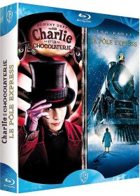 Charlie et la chocolaterie + Le Pôle Express (Pack) - Blu-ray