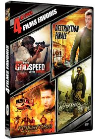 4 films favoris : Action (Pack) - DVD