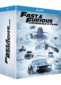 Fast and Furious - L'intégrale 8 films - Blu-ray