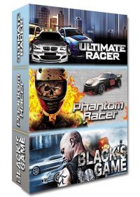 Voiture - Coffret 3 films : Ultimate Racer + Phantom Racer + Black's Game (Pack) - DVD
