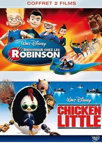 Bienvenue chez les Robinson + Chicken Little (Pack) - DVD