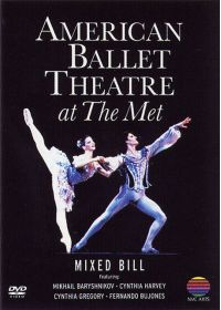 American Ballet Theatre at The Met - Mixed Bill - DVD