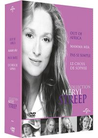 Collection Meryl Streep - Coffret - Out of Africa + Mamma Mia ! + Pas si simple + Le choix de Sophie (Pack) - DVD