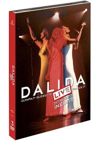 Dalida - Live - 3 concerts inédits : Olympia 1971, Québec 1975, Prague 1977 (Édition Collector) - DVD