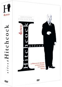 Alfred Hitchcock - Coffret 4 DVD (Édition Collector) - DVD