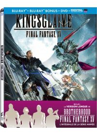 Kingsglaive: Final Fantasy XV (Blu-ray + Blu-ray bonus + DVD - Édition boîtier SteelBook) - Blu-ray