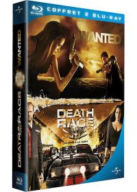 Wanted + Death Race, course à la mort (Pack) - Blu-ray