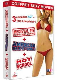 Coffret Sexy Movie : American Sexy Girls + 100 Girls + Hot School (Pack) - DVD