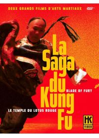 La Saga du Kung Fu : Blade of Fury + Le temple du Lotus Rouge (Pack) - DVD