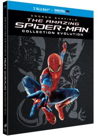Amazing Spider-Man - Evolution Collection : The Amazing Spider-Man + The Amazing Spider-Man : Le destin d'un héros (Édition limitée - Blu-ray + Blu-ray bonus + Digital UltraViolet) - Blu-ray
