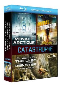 Coffret Catastrophe : Menace arctique + Metal Tornado + The Last Disaster (Pack) - Blu-ray