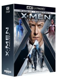X-Men - La Prélogie : X-Men : Le commencement + X-Men : Days of Future Past + X-Men : Apocalypse (4K Ultra HD + Blu-ray) - 4K UHD