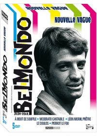 Jean-Paul Belmondo - Nouvelle vague - Coffret 5 DVD - DVD