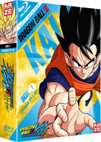 Dragon Ball Z Kai - Box 1/4 - Blu-ray