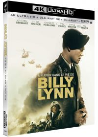 Un jour dans la vie de Billy Lynn (4K Ultra HD + Blu-ray 3D + Blu-ray + Digital UltraViolet) - Blu-ray 4K
