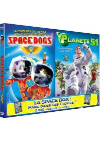 Space Dogs + Planète 51 (Pack) - DVD