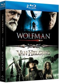 Coffret The Wolfman - The Wolfman + Van Helsing - Blu-ray