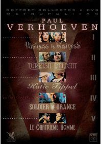 Paul Verhoeven - Coffret 5 films (Coffret Collector) - DVD