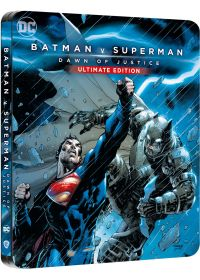 Batman v Superman : L'aube de la justice (4K Ultra HD + Blu-ray - Édition boîtier SteelBook) - 4K UHD
