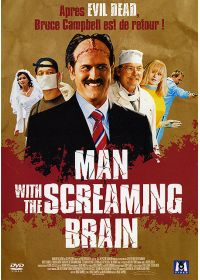 Man with the Screaming Brain - DVD
