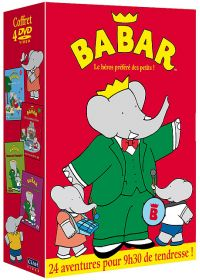 Babar - Coffret 4 DVD (Pack) - DVD