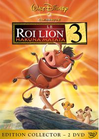 Le Roi Lion 3, Hakuna Matata (Édition Collector) - DVD