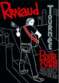 Renaud - Tournée Rouge Sang, Paris Bercy + Hexagone - DVD
