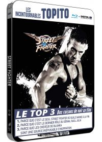 Street Fighter (Blu-ray + Copie digitale - Édition boîtier SteelBook exclusive avec illustration Pop Art) - Blu-ray