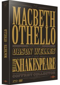Macbeth & Othello d'après William Shakespeare réalisés par Orson Welles (Édition Collector) - Blu-ray