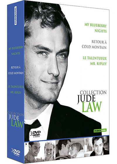 Collection Jude Law - Coffret - My Blueberry Nights + Retour à Cold Mountain + Le talentueux Mr Ripley - DVD