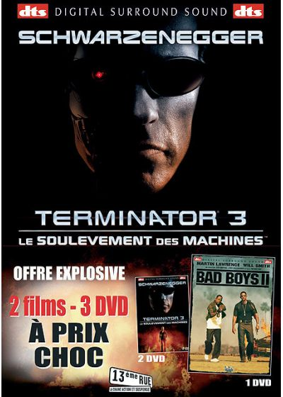 Terminator 3 - Le soulèvement des machines + Bad Boys II (Pack) - DVD